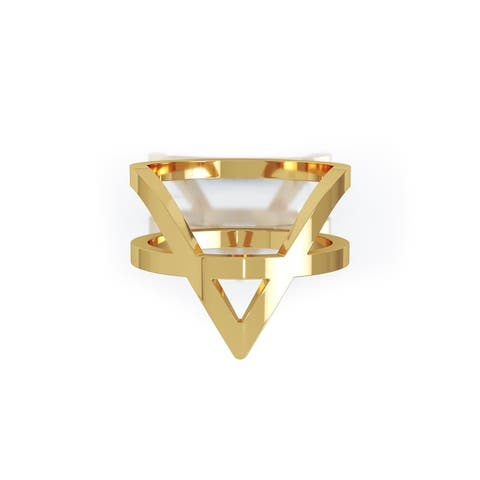 14K Gold V-Shaped Ring by Noray Designs