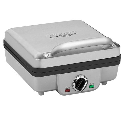 Cuisinart WAF-300 Belgian Waffle Maker with Pancake Plates, Stainless Steel