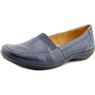 Naturalizer Fritz Women W Square Toe Leather Loafer
