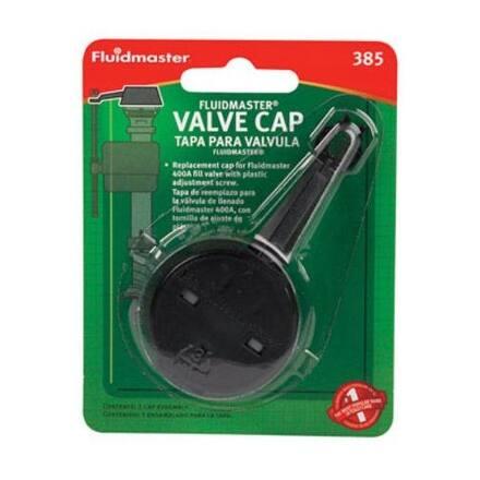 Fluidmaster 385 Replacement Valve Cap, Black