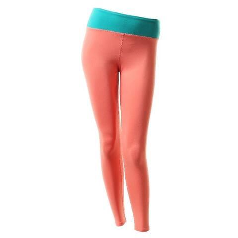 Veva by Very Vary Women Coral Gaya Ankle Leggings