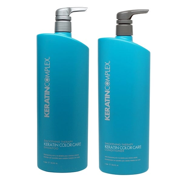 Keratin Complex - Color Care Shampoo & Conditioner 33.8 Oz ea