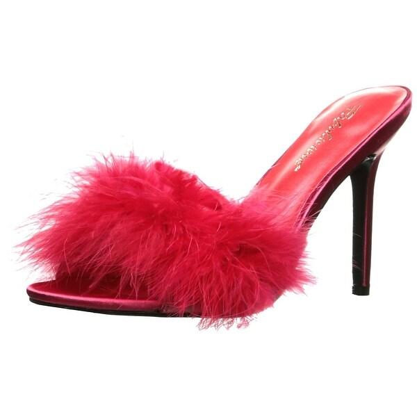 Pleaser Women's Clas01f/Rpu-f Slide Sandal