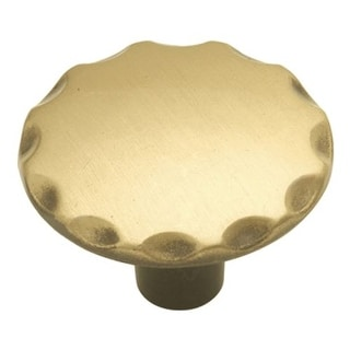 Hickory Hardware P146 Cavalier 1-1/8 Inch Diameter Mushroom Cabinet Knob