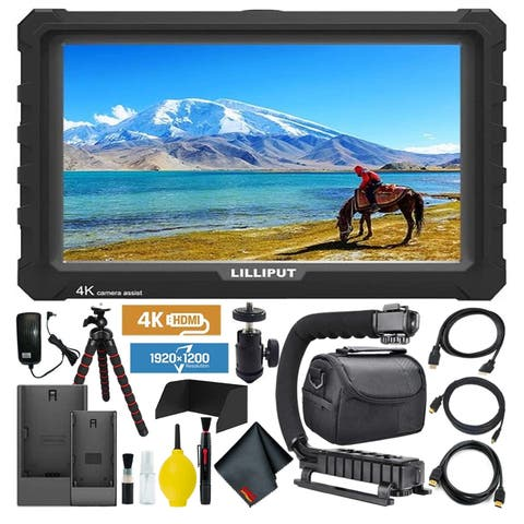 Lilliput A7S Full HD 7 Inch IPS Video Camera Field Monitor with 4K Support (Black Case)