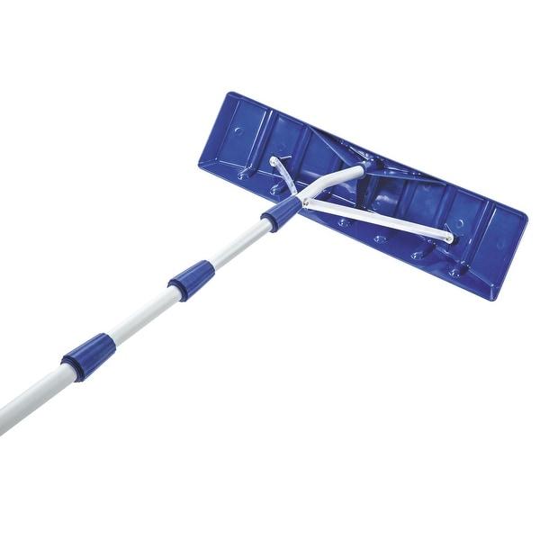 Sun Joe & Snow Joe 21' Twist-N-Lock Telescoping Snow Shovel Roof Rake