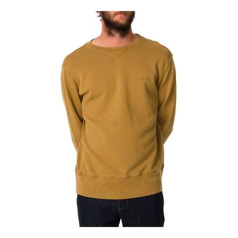Rvca Mens The Dessert Sun Crewneck Sweatshirt