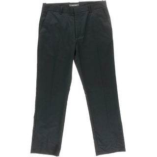 Kenneth Cole Reaction Mens Flat Front Pattern Dress Pants