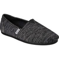 Skechers Women's BOBS Plush Express Yourself Alpargata Black