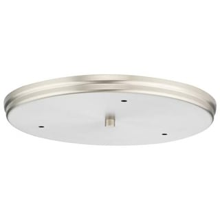 Forecast Lighting F510336 A La Carte Canopy from the Suspension Collection - Satin Nickel