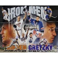 Wayne Gretzky unsigned Cal Ripken Jr signed Ironman 16x20 Photo MLB Hologram