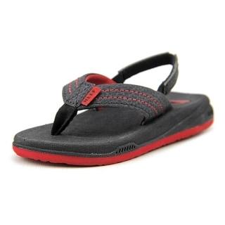 Reef Grom Phantom Open Toe Synthetic Flip Flop Sandal