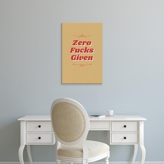 Easy Art Prints 'Zero II' Premium Canvas Art