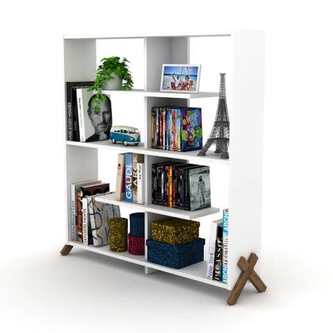 DiscountWorld Kassadin 8-shelf Open Bookcase