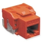 Icc Ic1078l6rd Cat6 Modular Connector Jack, Red