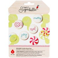 Sweet Sugarbelle Cookie Stencils 5/Pkg-Christmas