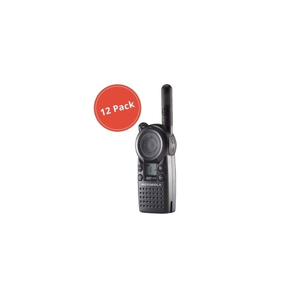 Motorola CLS1110 (12 Pack) Professional 2-Way Radio / 2 Mile Range