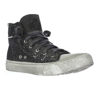 Studswar Cecilia High-Top Studed Sneakers - Army
