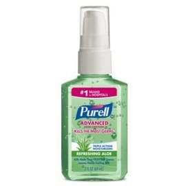 Purell Instant Hand Sanitizer With Aloe 2 oz