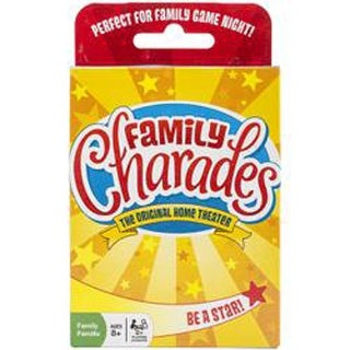Family Charades Card Game-