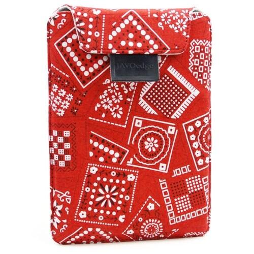 JAVOedge Bandana Flex Sleeve for Amazon Kindle Paperwhite (Red) - Red