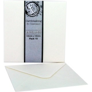 "White 5.8""-Cardmaking Sq Envelp"