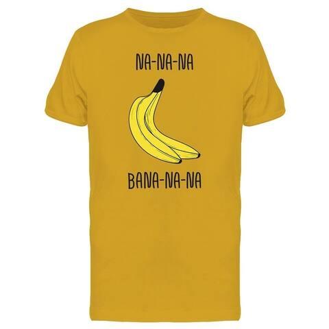 Na Na Na Banana Tee Men's -Image by Shutterstock