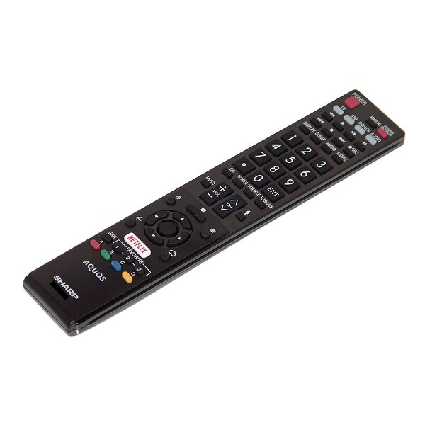 OEM Sharp Remote Control Originally Shipped With LC60UE30 & LC-60UE30