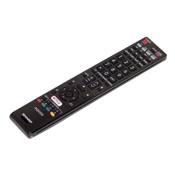 OEM Sharp Remote Control Originally Shipped With LC70UC30U & LC-70UC30U
