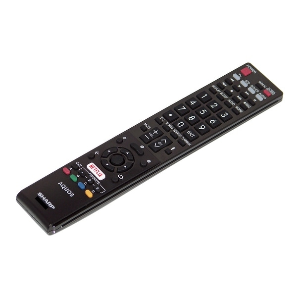 OEM Sharp Remote Control Originally Shipped With LC80UH30 & LC-80UH30