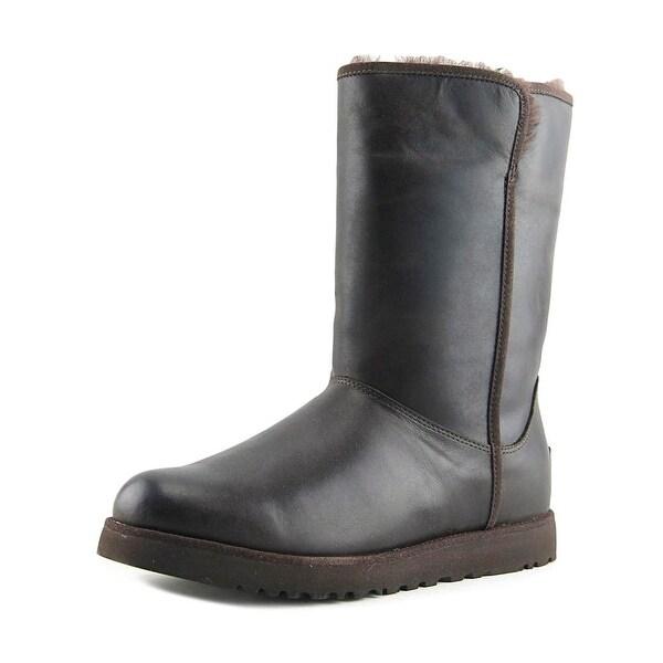 Ugg Australia Michelle Women Round Toe Leather Brown Winter Boot