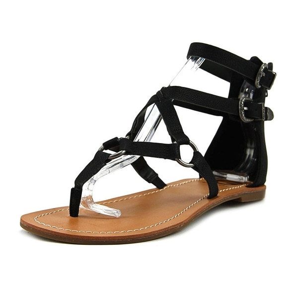 G By Guess HOBEY Open Toe Suede Gladiator Sandal
