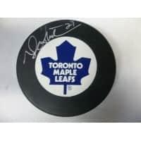 Signed Sittler Darryl Toronto Maple Leafs Toronto Maple Leafs Hockey Puck autographed