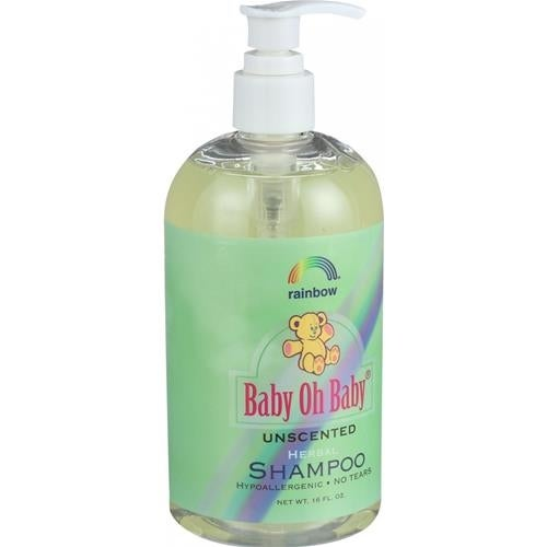 Rainbow Research - Baby Oh Baby Organic Herbal Shampoo Unscented ( 2 - 16 FZ)