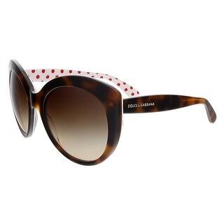 Dolce&Gabbana DG4227 287213 Havana Cateye Sunglasses