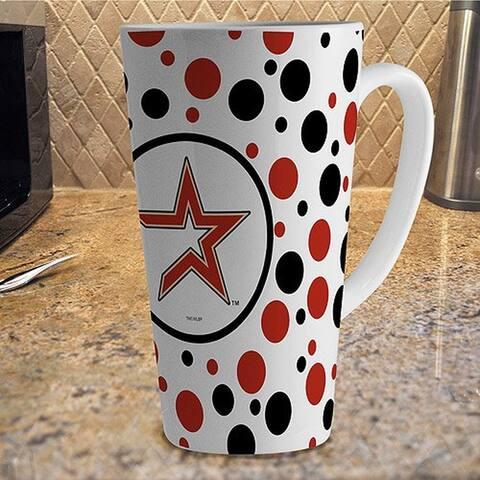Houston Astros Polka Dot Latte Mug