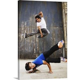 """""""Breakdance"""" Canvas Wall Art"""