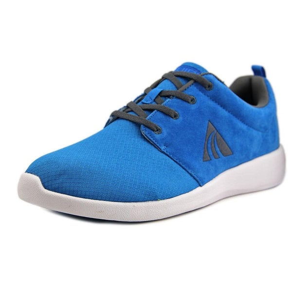 Liuid Joby 2 Men Round Toe Suede Blue Sneakers