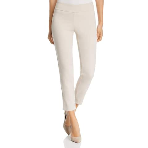 Lysse Womens Tate Ankle Pants High Waist Cropped - Champagne