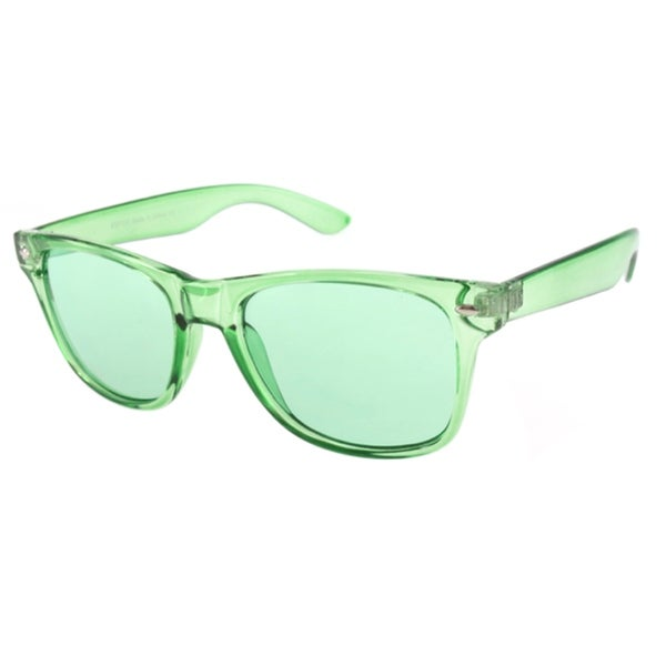 Transparent Wayfarer Sunglasses
