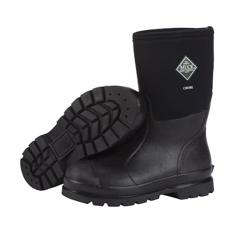 Muck Boot Mens Chore Closed Toe Mid-Calf Cold Weather Boots
