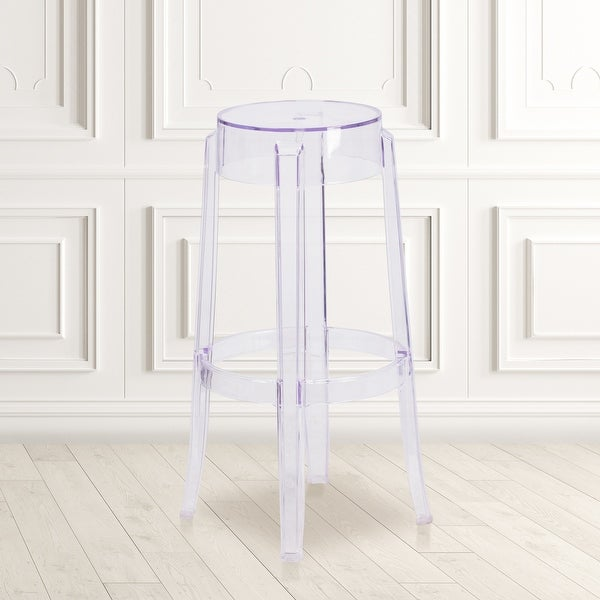 "29.75"" High Transparent Barstool - Restaurant & Bar Furniture. Opens flyout."