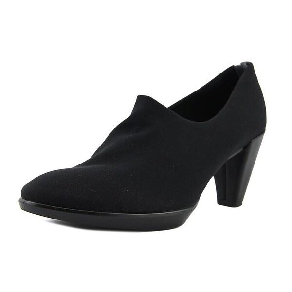 Ecco Plateau Boot Black Boots
