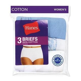 Hanes Women's Cotton Briefs - 8