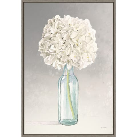 Tranquil Blossoms II by James Wiens Framed Canvas Art