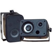 Pyle PD-WR30B 3 1/2    Indoor/Outdoor Waterproof Speakers