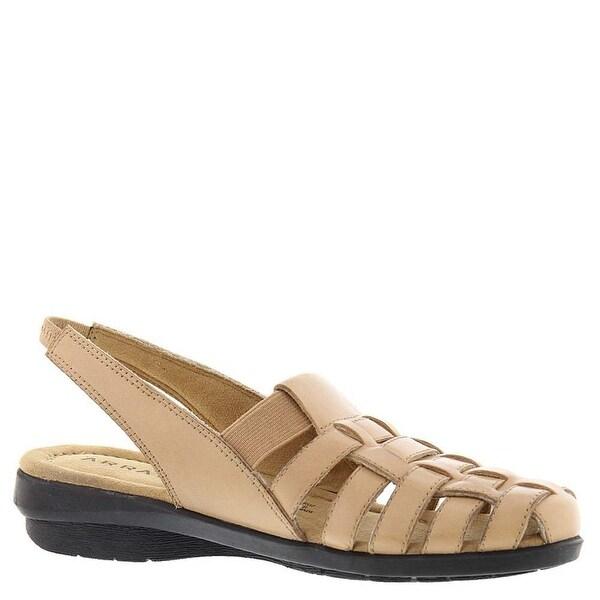 ARRAY Womens Santa Cruz Leather Closed Toe Casual Slingback Sandals