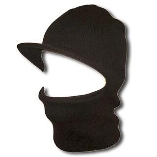 Face Ski Mask w/ Visor - Charcoal - Dark Charcoal