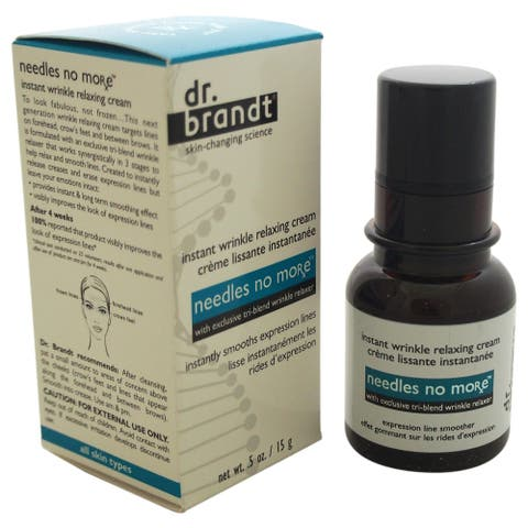 Needles No More By Dr Brandt For Unisex - 0 5 Oz Cream