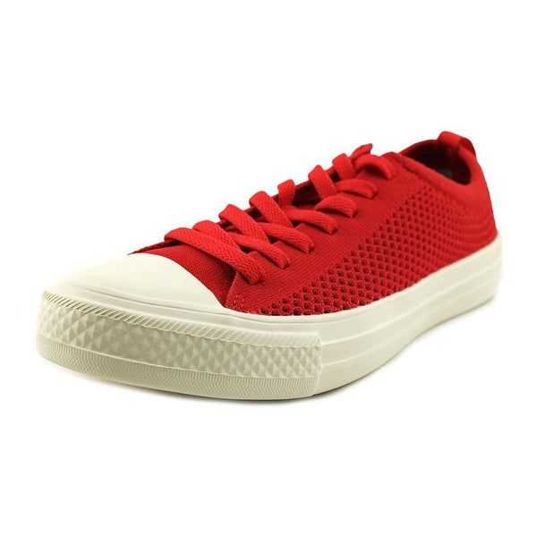 People Footwear The Phillips Women Canvas Red Fashion Sneakers